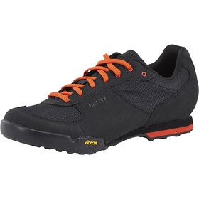 Giro Rumble VR Zapatillas Hombre, black/glowing red